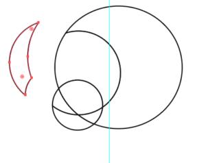 円形のパーツ